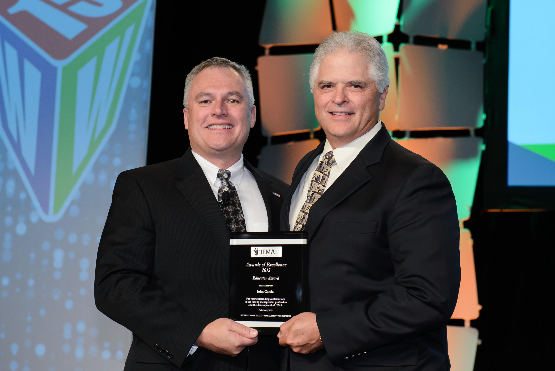 John Garcia receives Educator Award