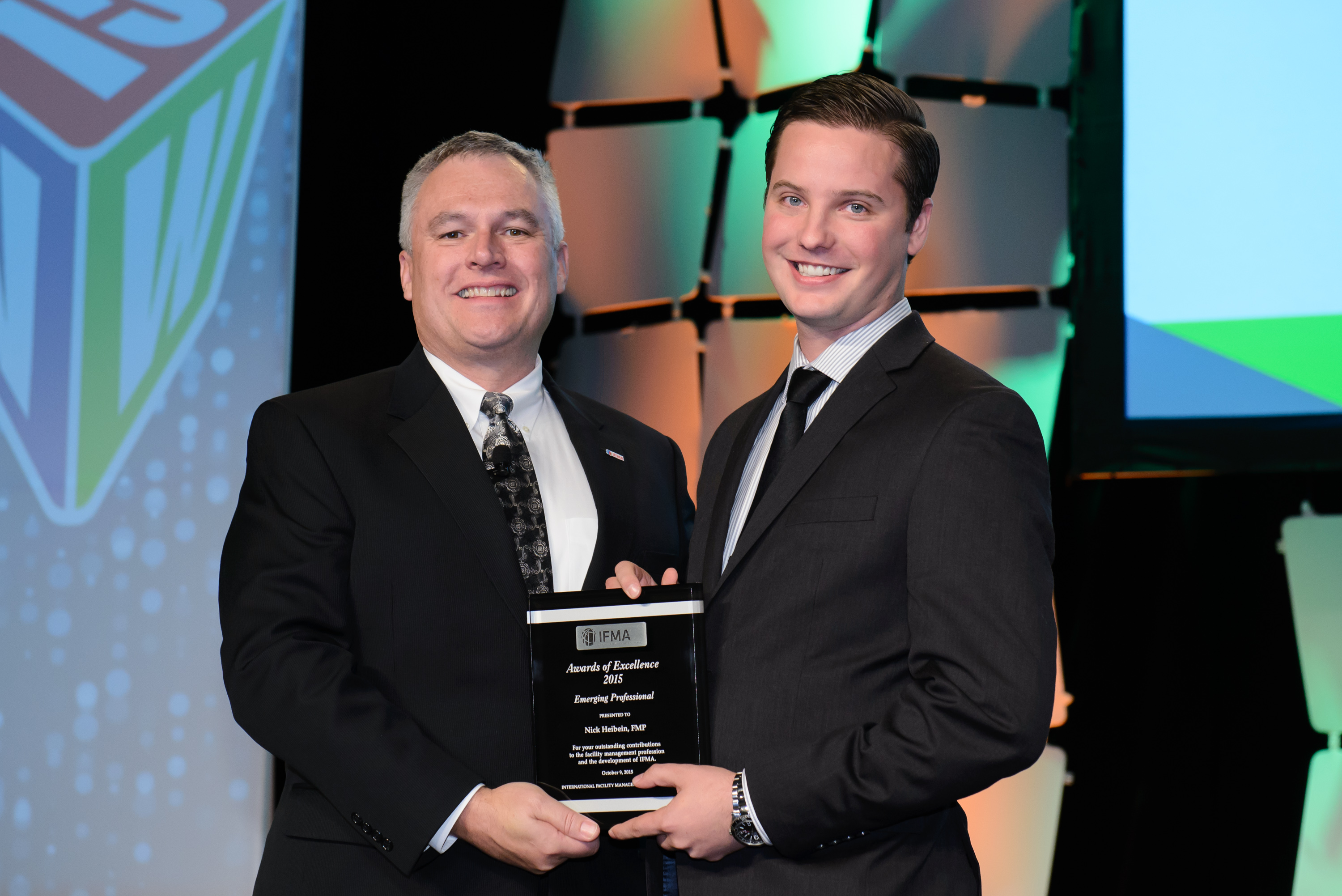 Nick Heibein receives Emerging Professional Award