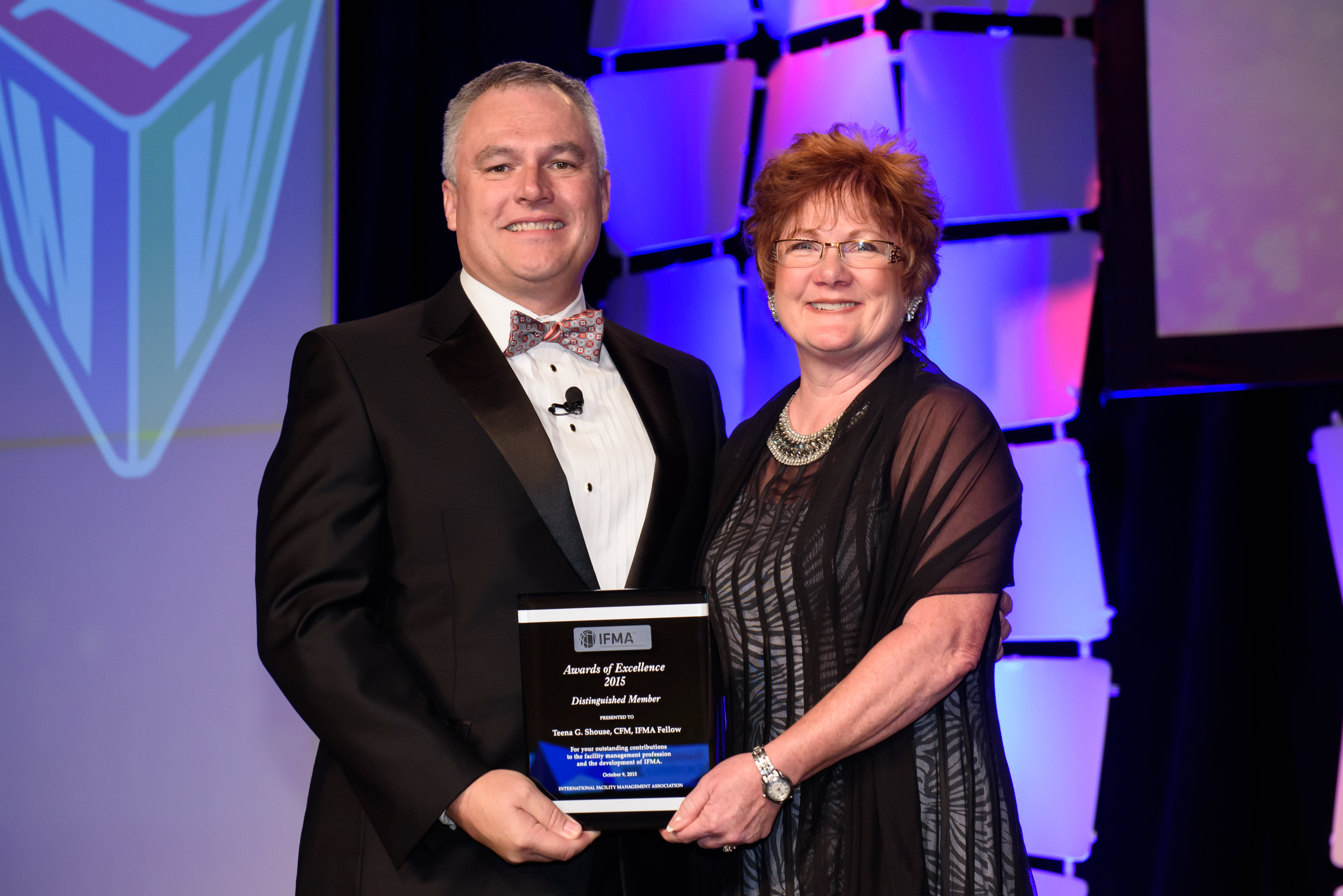 Teena Shouse CFM, IFMA Fellow receives Distinguished Member