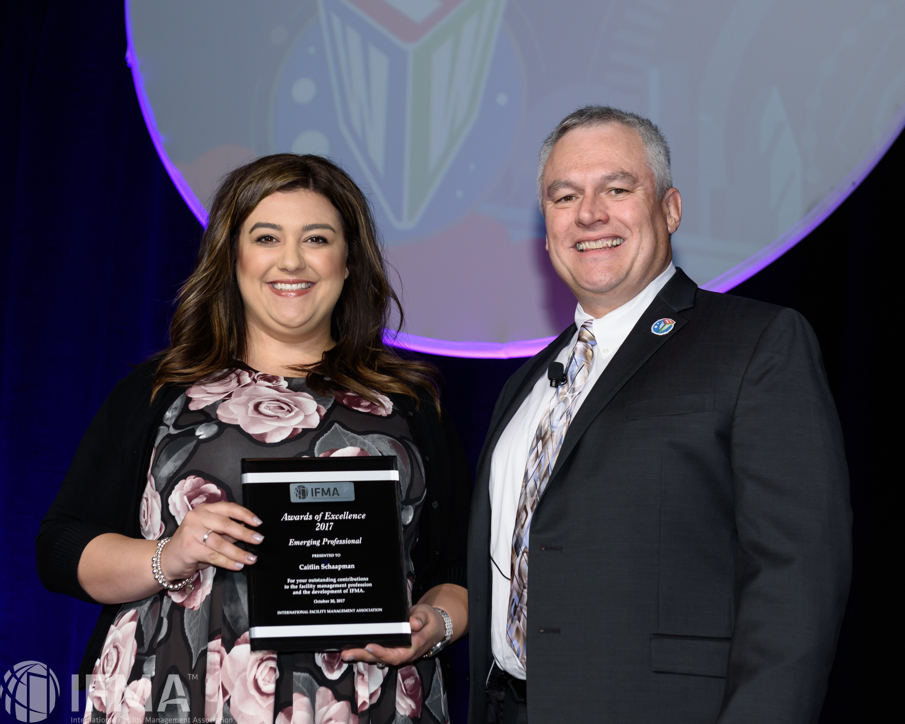 Caitlin Schaapman receives Emerging Professional of the Year