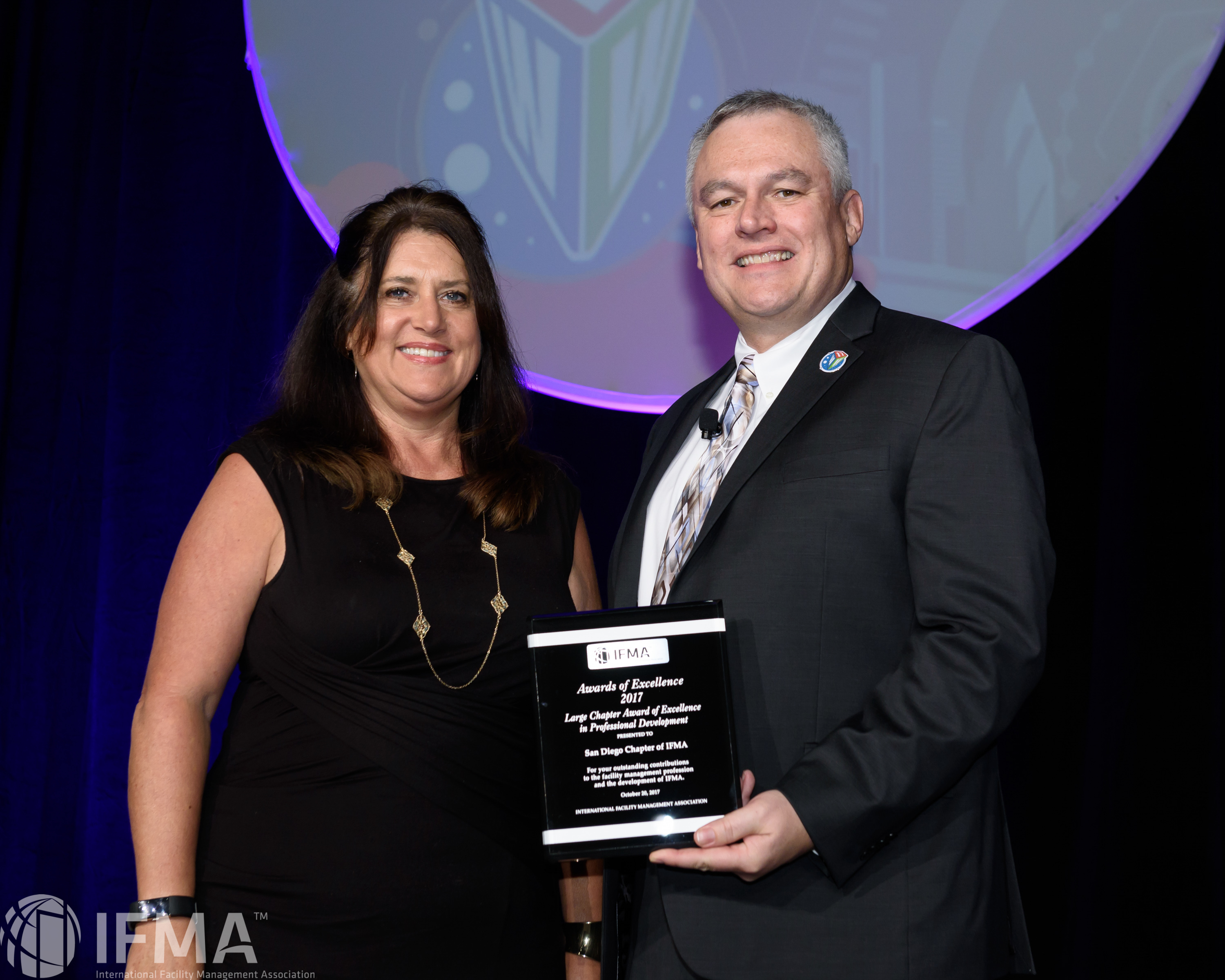 San Diego Chapter of IFMA receives Large Chapter Award of Excellence in Professional Development