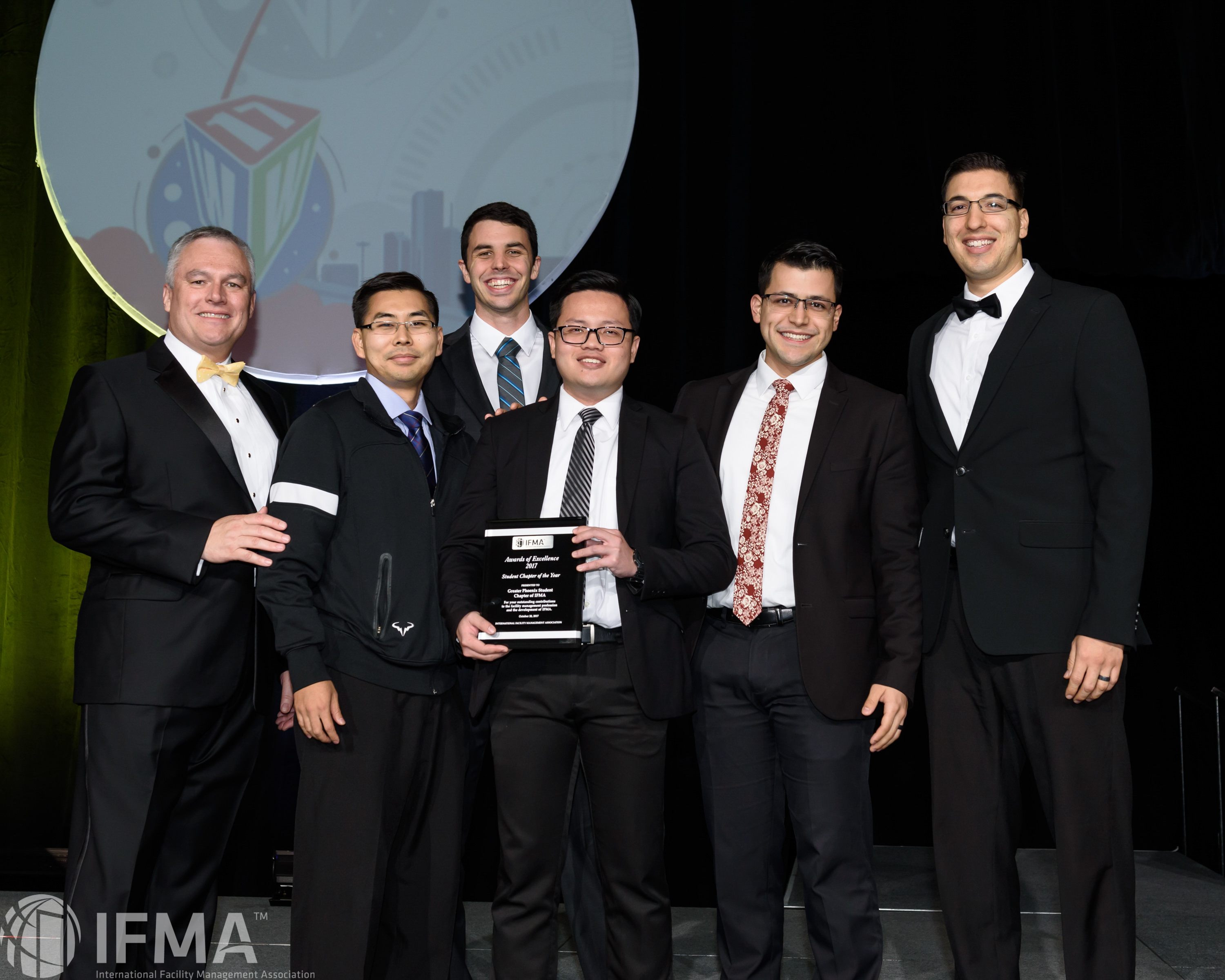 Greater Phoenix Student Chapter of IFMA receives Student Chapter of the Year Award