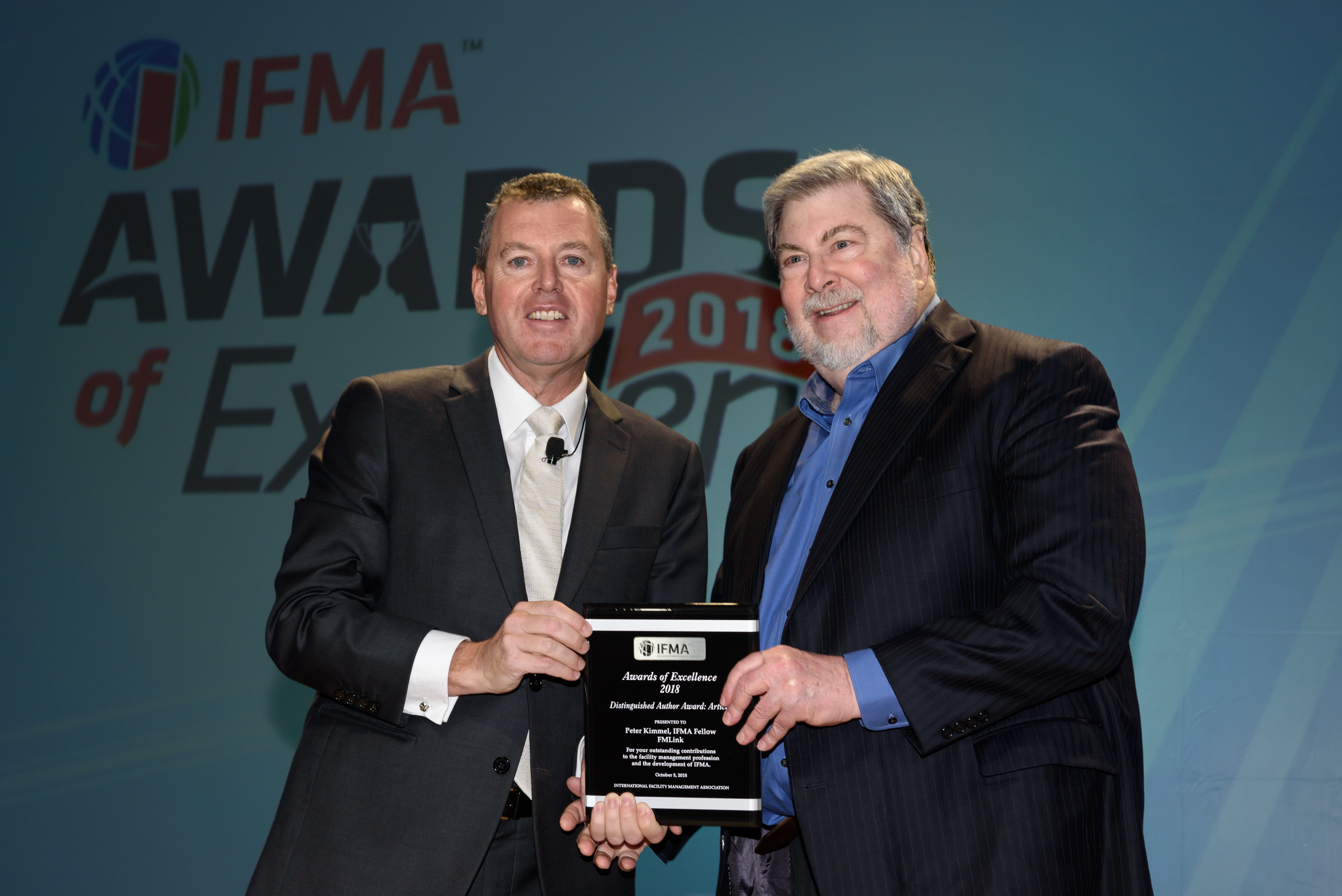 Peter Kimmel, IFMA Fellow receives Distinguished Author Article of the Year