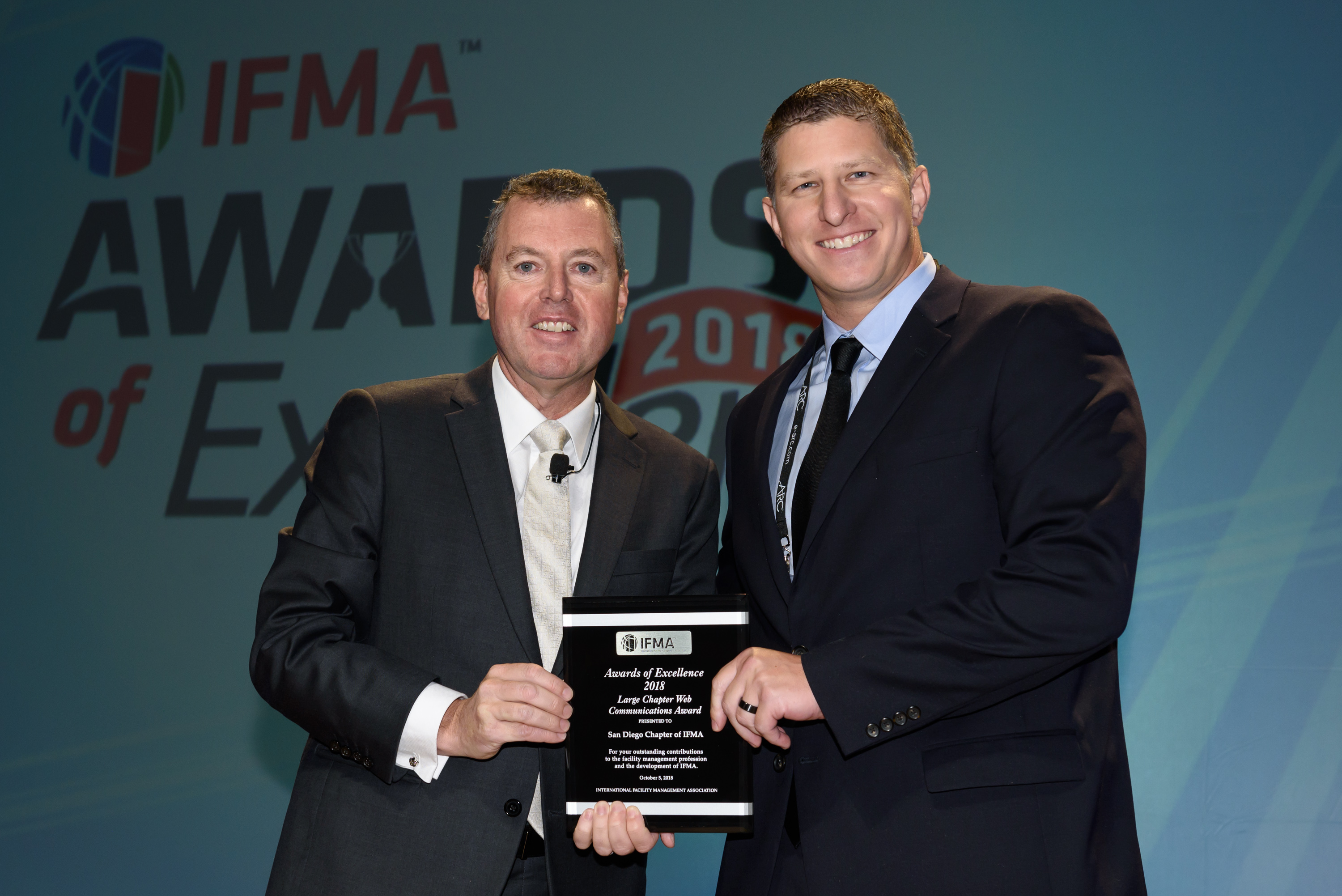 San Diego of IFMA receives Large Chapter Award of Excellence in Web Communications