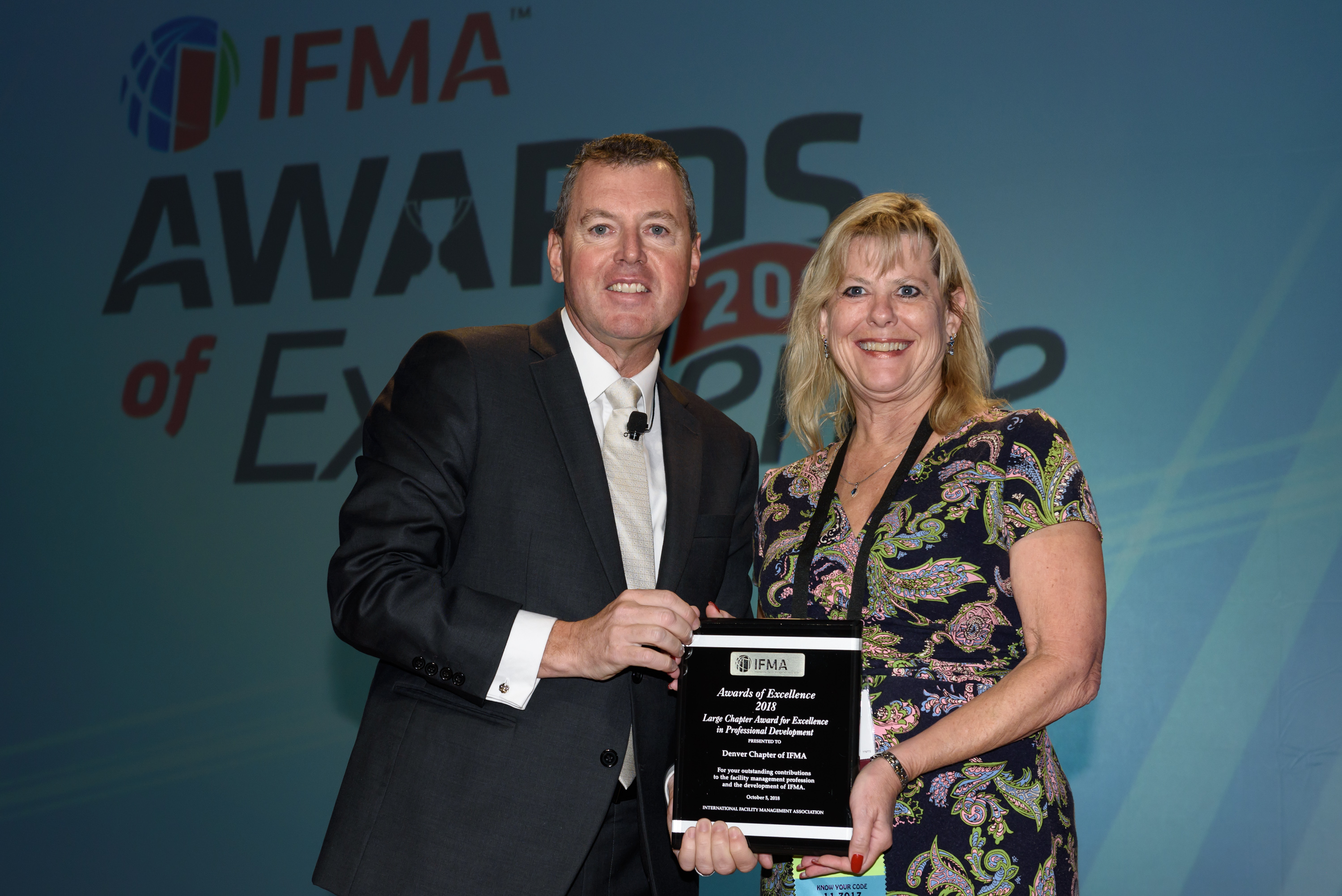 Denver Chapter of IFMA receives Large Chapter Award of Excellence in Professional Development