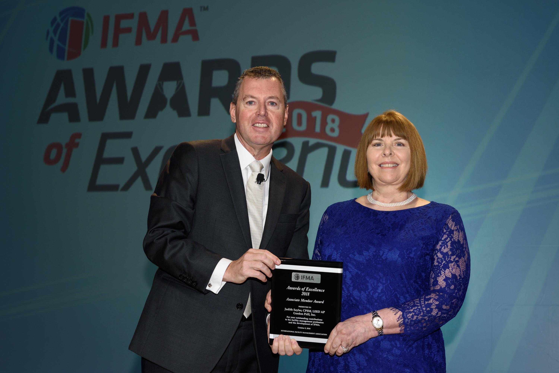 Judith Sayler receives Associate Member of the Year