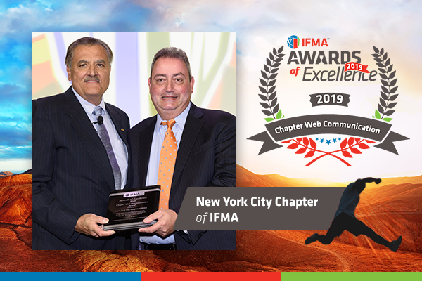 New York City Chapter of IFMA receives Chapter Web Communications Award
