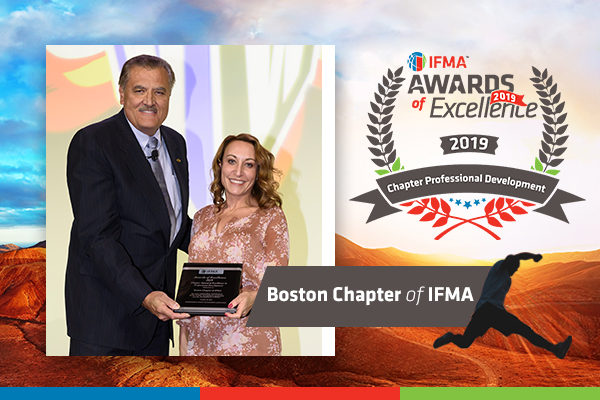 Boston Chapter of IFMA receives Chapter Award for Excellence in Professional Development