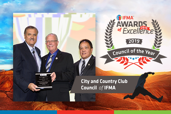 City and Country Club receives Council of the Year Award