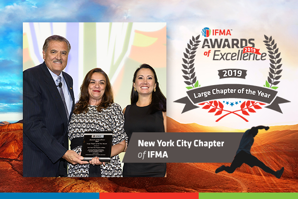 New York City Chapter of IFMA receives Large Chapter of the Year Award