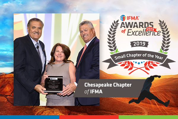 Chesapeake Chapter of IFMA receives Small Chapter the Year Award